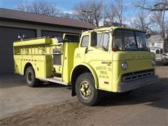 1979 Ford C800 S/A Fire Truck