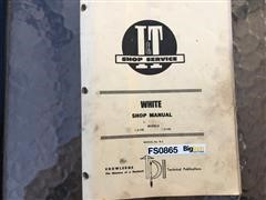 White IT Shop Service Manual For 2-135, 2-155 Tractors
