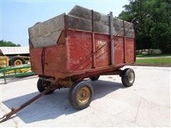 Stan-Hoist All Steel 4 Ton Silage Wagon