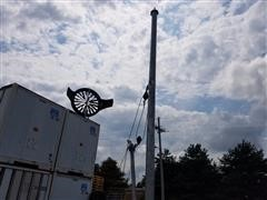 2012 American Resource & Energy 30' Windtronics Pole, Foundation and Raising System Wind Tower