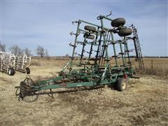 Baker 9100 32' Field Cultivator W/3-Bar Coil-Tine Harrow
