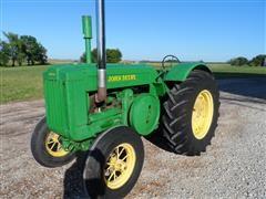 1942 John Deere D 2-Cylinder Letter Series 2WD Tractor
