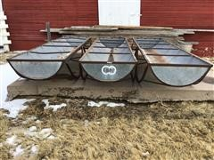 12' Feed Bunks On Stands