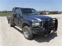 2007 Ford F350XLT Super Duty Flatbed Pickup W/Fuel Tank