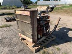 International V8 Natural Gas Power Unit