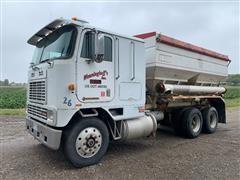 1991 International 9600 COE T/A Tender Truck W/16 Ton Dry Box
