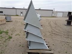 "GSI Grain Leg 16"" Lined Hopper Inlets"
