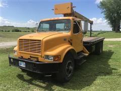 1996 International 4900 S/A Boom Truck