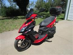 2009 Kymco 150 Super 8 Scooter