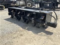 """2019 JCT 72"""" Tiller Heavy Duty Skid Steer Attachment"""