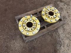 John Deere 8400 Wedge Lock Dual Hubs