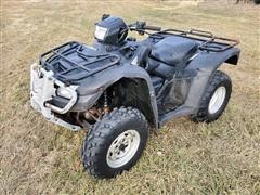 2009 Honda Rubicon 4x4 ATV