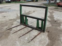 Shop Built 4-Tine Quick-Attach Bale Fork