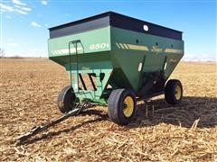 Demco 650 Posi-Flow Gravity Wagon