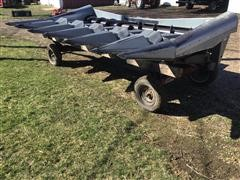 Deutz-Allis 630A 6R30'' Corn Head & Trailer