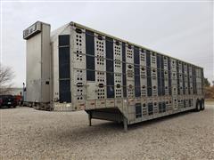 1997 Merritt PSDCL T/A Aluminum Livestock Trailer