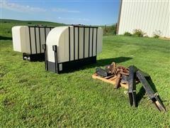 Molt Mfg 1000 Gallon Saddle Tanks