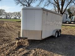 2011 Doolittle Cargomaster 7'X14' T/A Enclosed Trailer