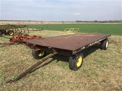Steel Floor Hay Trailer