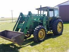 1981 John Deere 2940 MFWD Tractor W/Loader