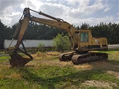 Caterpillar 225 Tracked Excavator