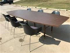 Conference Table w/Six Chairs