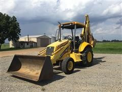 New Holland LB75 2WD Loader Backhoe