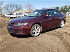 2007 Mazda 6 I 4 Door Sedan