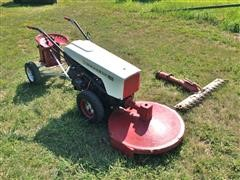 1959 Gravely Super Convertible LI Tractor & 3 Accessories