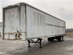 1985 Fruehauf T/A Enclosed Van Trailer