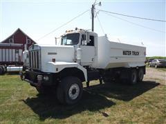 1984 Kenworth C500 T/A Water Truck