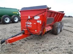 KUHN Knight Slinger 8124 ProTwin T/A Manure Spreader