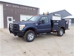 2013 Ford F350XL Super Duty 4x4 Service Pickup