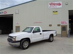 2006 Chevrolet 1500 Silverado 4x4 Long Box Pickup