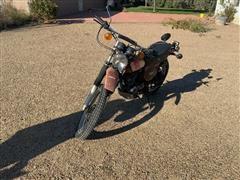 1977 Yamaha Unduro 500 Motorcycle