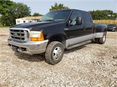 2000 Ford F350 Super Duty 4x4 Dually Crew Cab Pickup