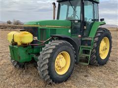1995 John Deere 7800 MFWD Tractor