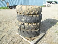 13.00X24 Foam Filled Tires On Rims