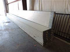 Raynor Insulated Overhead Door W/Windows In 1 Panel