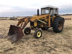1964 Minneapolis Moline M602 LP Gas 2WD Tractor W/loader