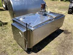 Sunset MC-300PX Stainless Steel Flat Top Bulk Tank