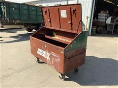 "Jobox 680990 60"" Slope Lid Storage Chest"