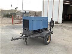 Miller Big 40 Portable Welder/Generator On Trailer