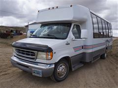 2002 Ford E450 15-Passenger Vehicle W/Extra Seats