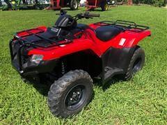 2016 Honda Rancher TRX420FM 4x4 ATV