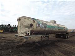 1964 Fruehauf Aluminum T/A Tanker Trailer