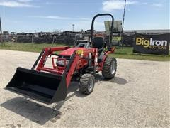 Mahindra Max24H 4WD Compact Utility Tractor W/Loader