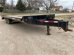 2005 Felling FT 14 2000 T/A Deck Over Flatbed Trailer