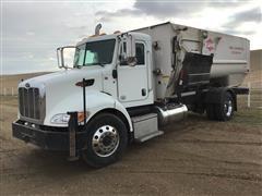 2013 Peterbilt PB337 Feed Truck