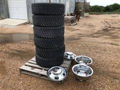 2005 Dodge Ram 3500 265/70R17 Tires & Rims